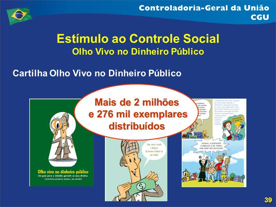 Estímulo ao Controle Social