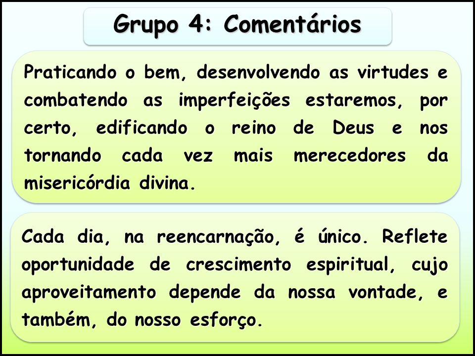 Grupo 4: Comentários