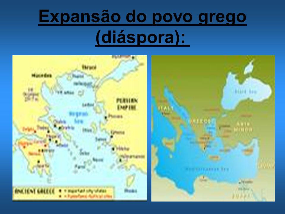 Expansão do povo grego (diáspora):