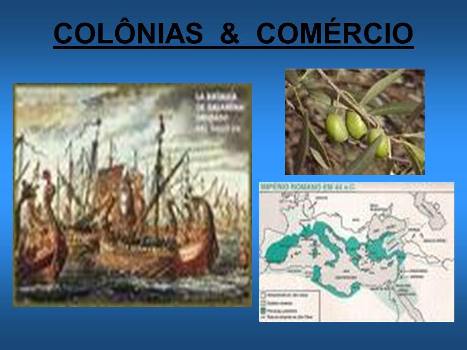 COLÔNIAS & COMÉRCIO