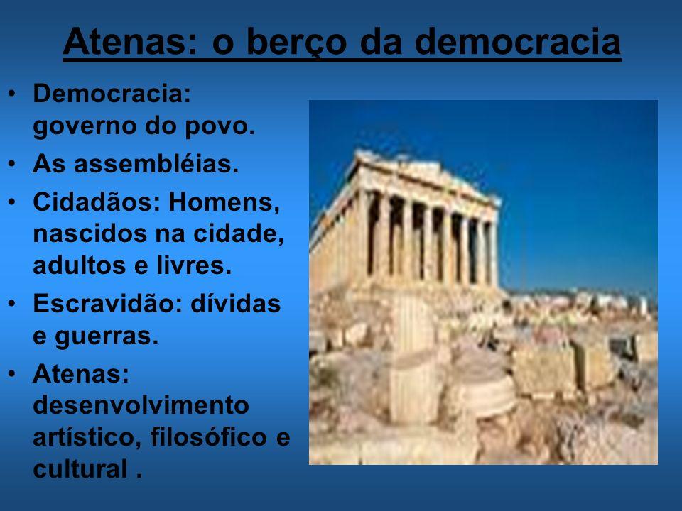 Atenas: o berço da democracia