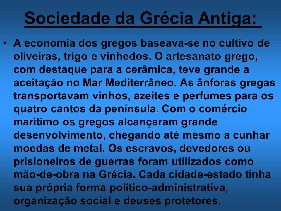 Sociedade da Grécia Antiga:
