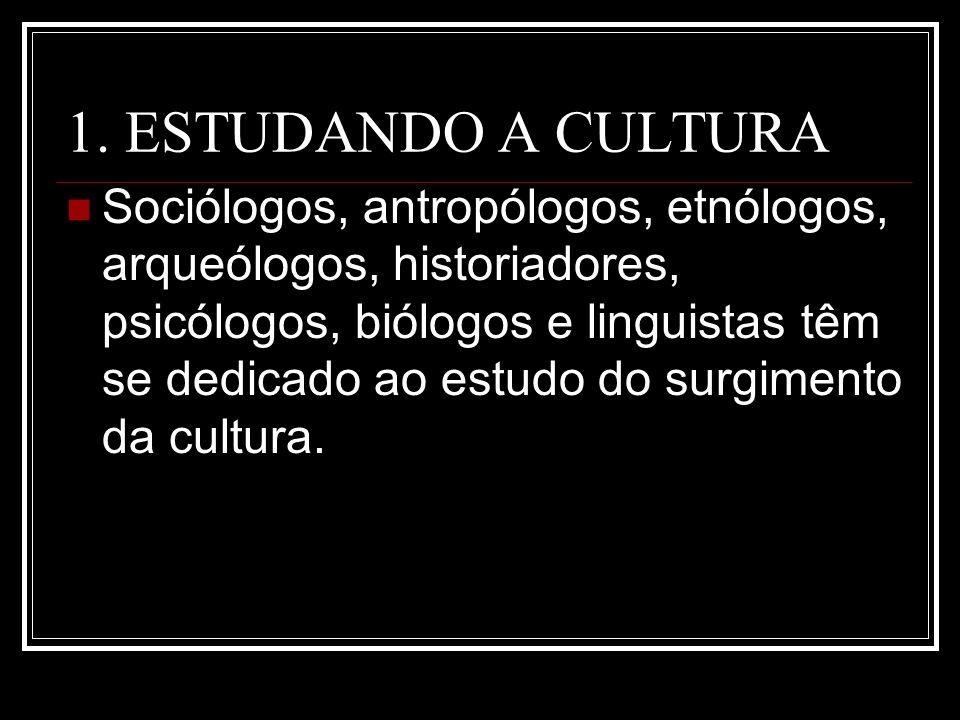 1. ESTUDANDO A CULTURA