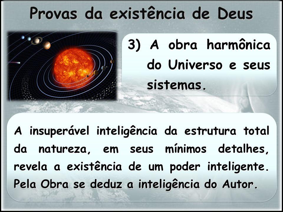 Provas da existência de Deus