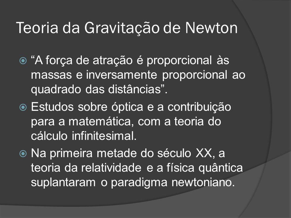Teoria da Gravitação de Newton