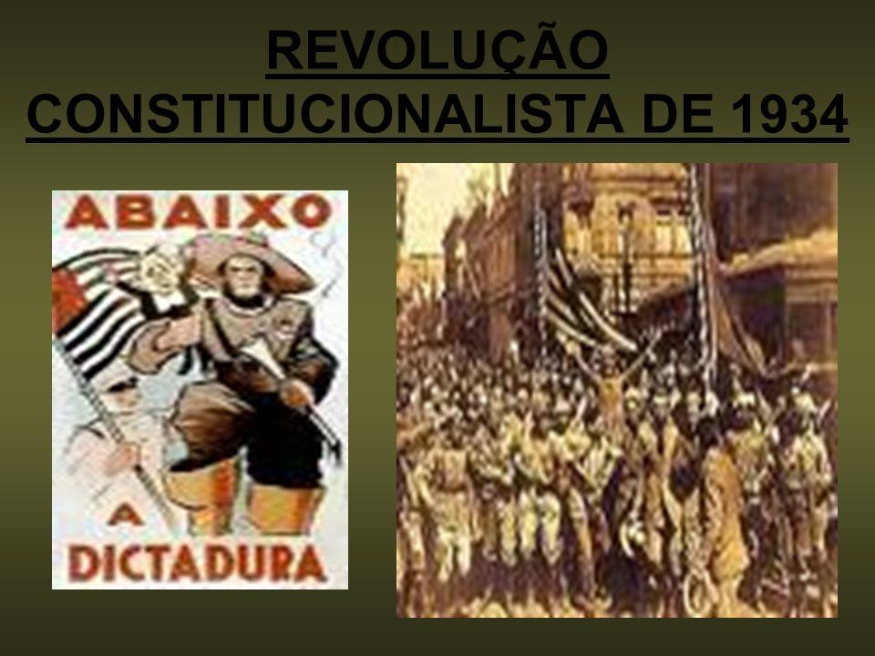 REVOLUÇÃO CONSTITUCIONALISTA DE 1934