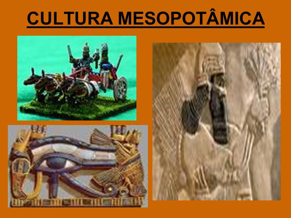 CULTURA MESOPOTÂMICA