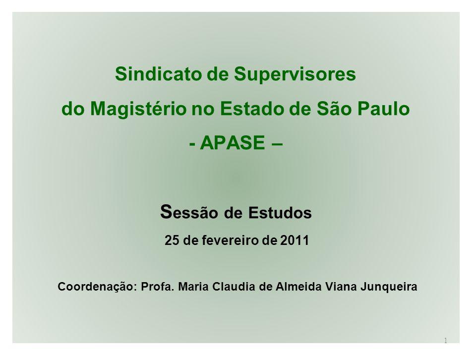 Sindicato de Supervisores do Magistério no Estado de São Paulo - APASE –