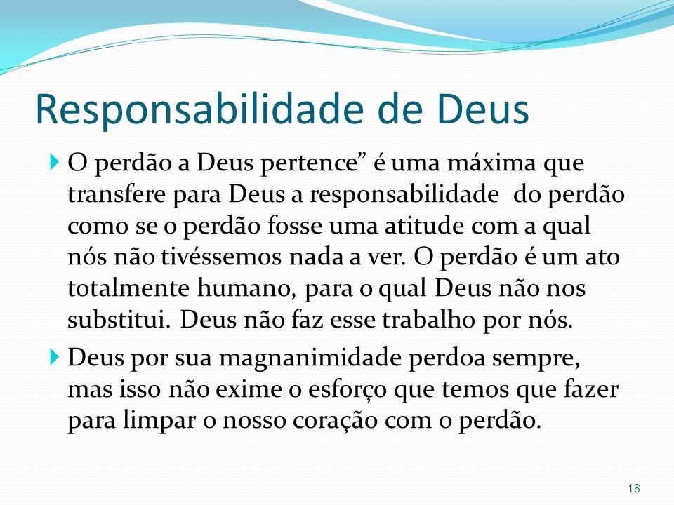 Responsabilidade de Deus