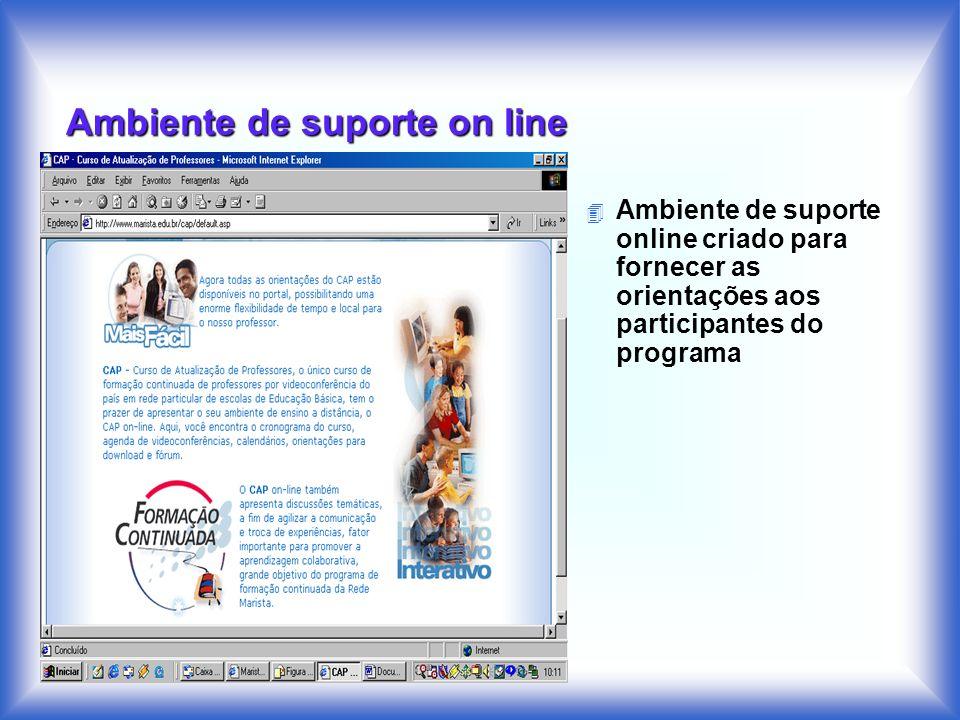 Ambiente de suporte on line