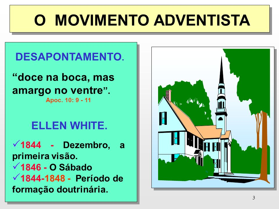 O MOVIMENTO ADVENTISTA