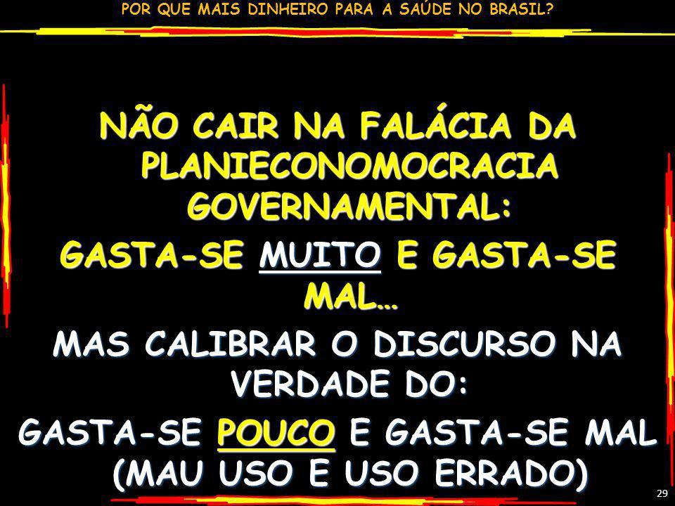 NÃO CAIR NA FALÁCIA DA PLANIECONOMOCRACIA GOVERNAMENTAL: