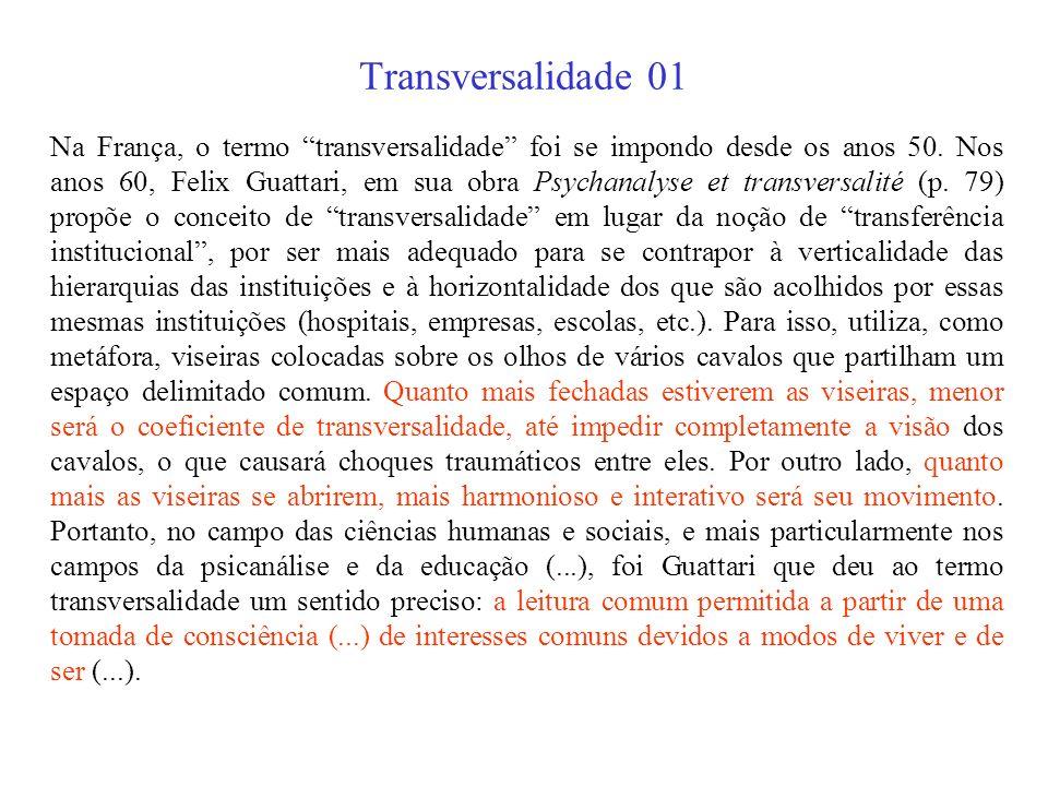 Transversalidade 01