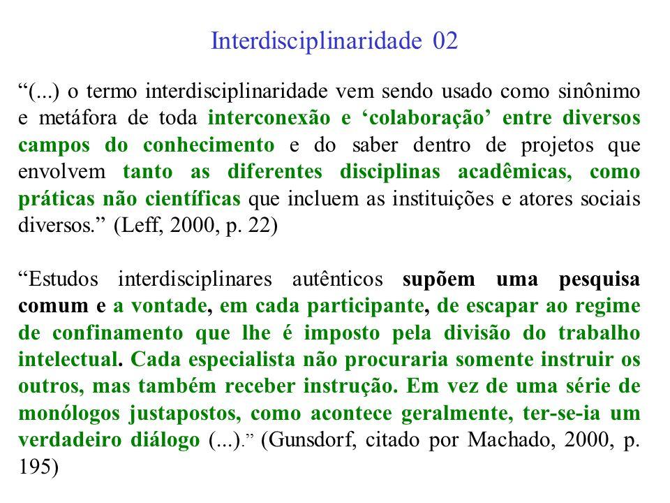 Interdisciplinaridade 02