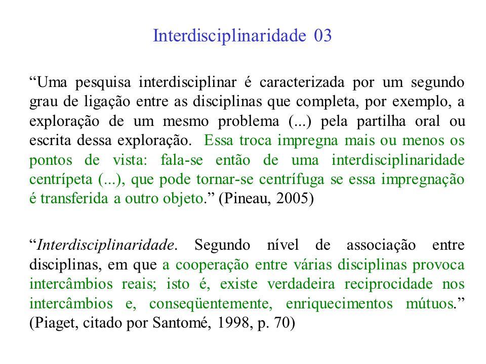 Interdisciplinaridade 03