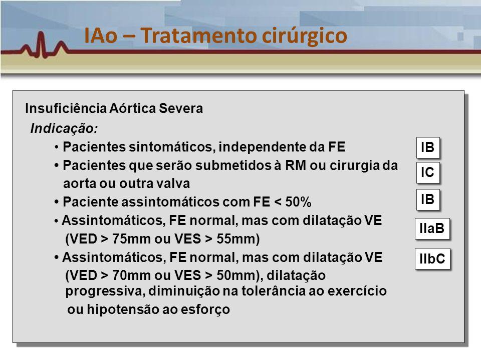 IAo – Tratamento cirúrgico