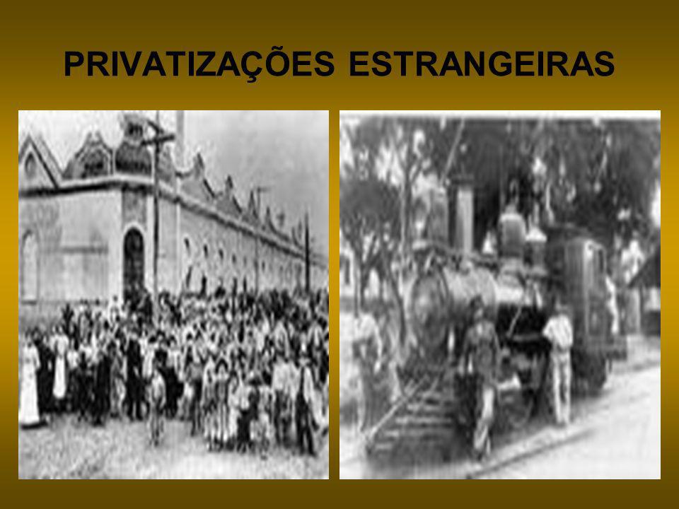 PRIVATIZAÇÕES ESTRANGEIRAS