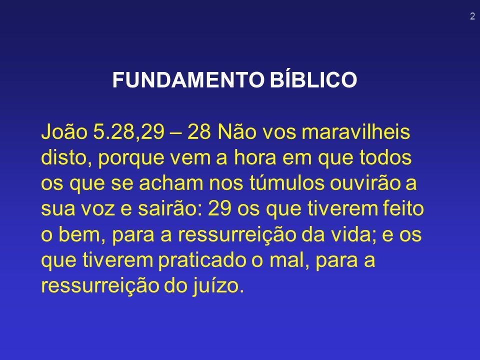 FUNDAMENTO BÍBLICO João 5
