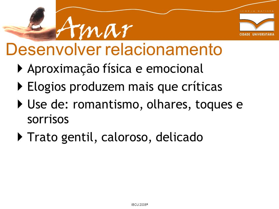 Desenvolver relacionamento