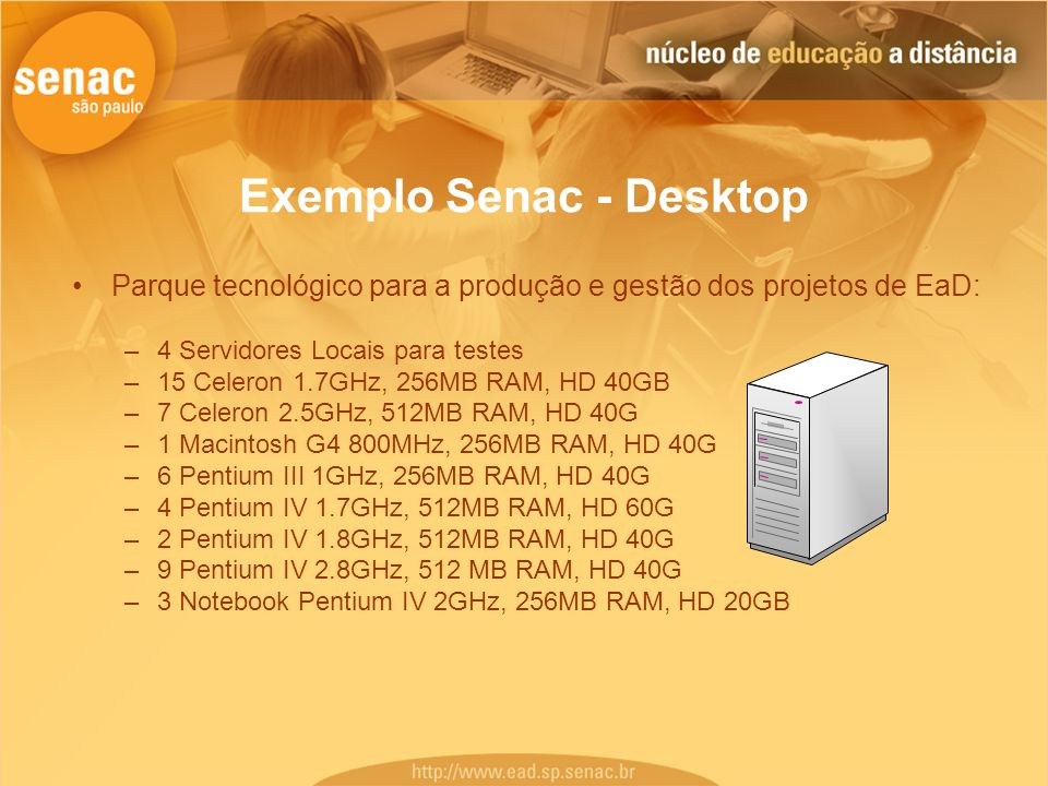Exemplo Senac - Desktop