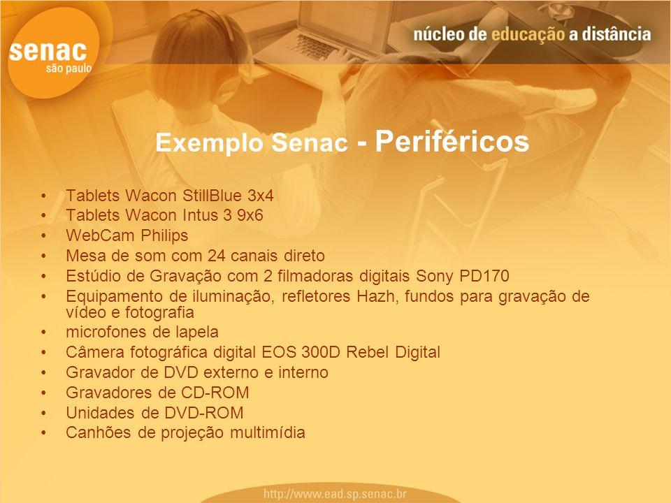 Exemplo Senac - Periféricos