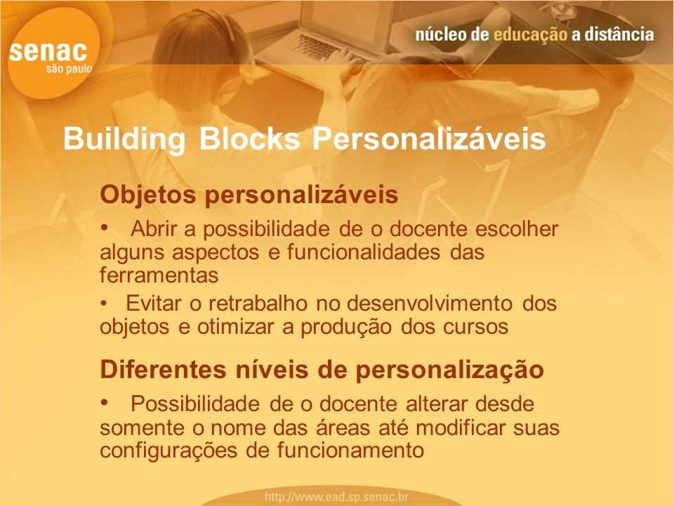 Building Blocks Personalizáveis