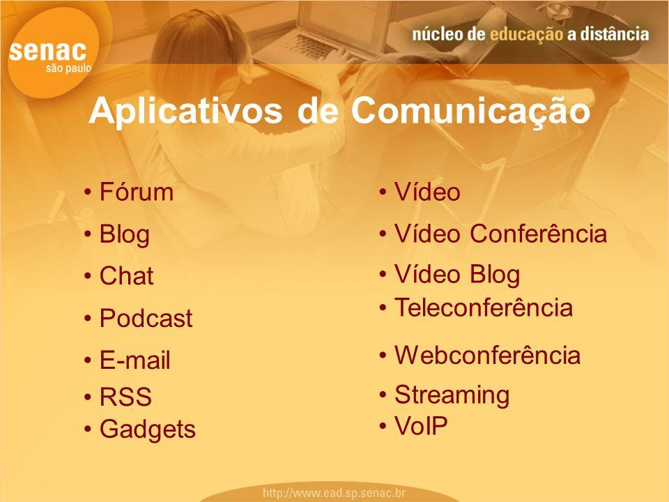 Aplicativos de Comunicação