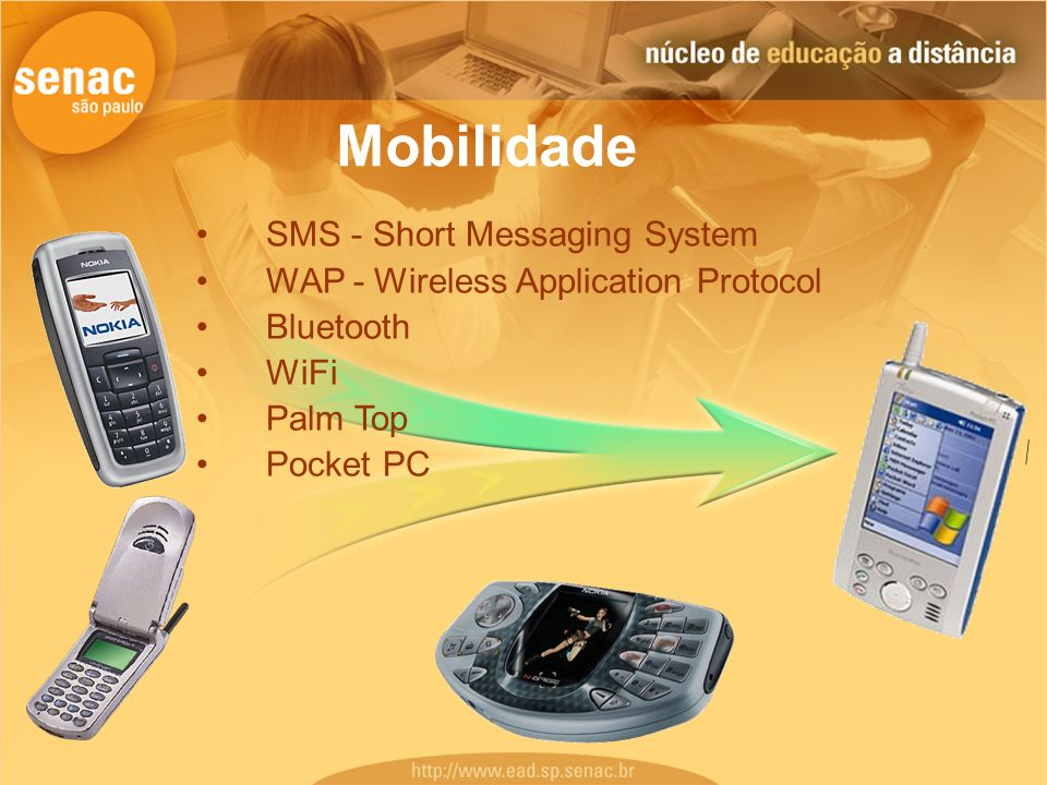 Mobilidade SMS - Short Messaging System