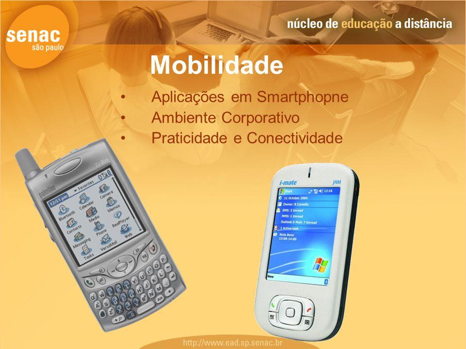 Mobilidade Aplicações em Smartphopne Ambiente Corporativo