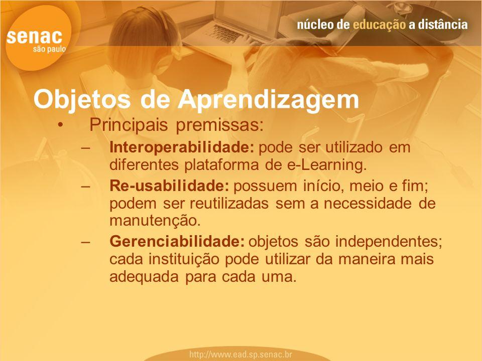Objetos de Aprendizagem