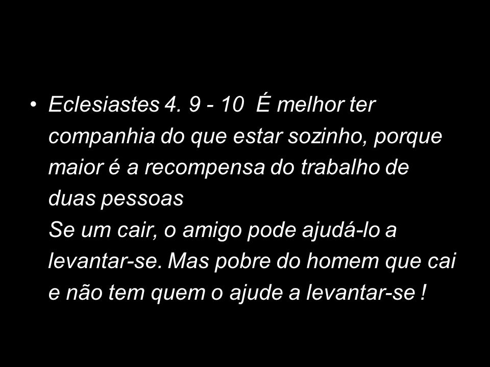 Eclesiastes 4.