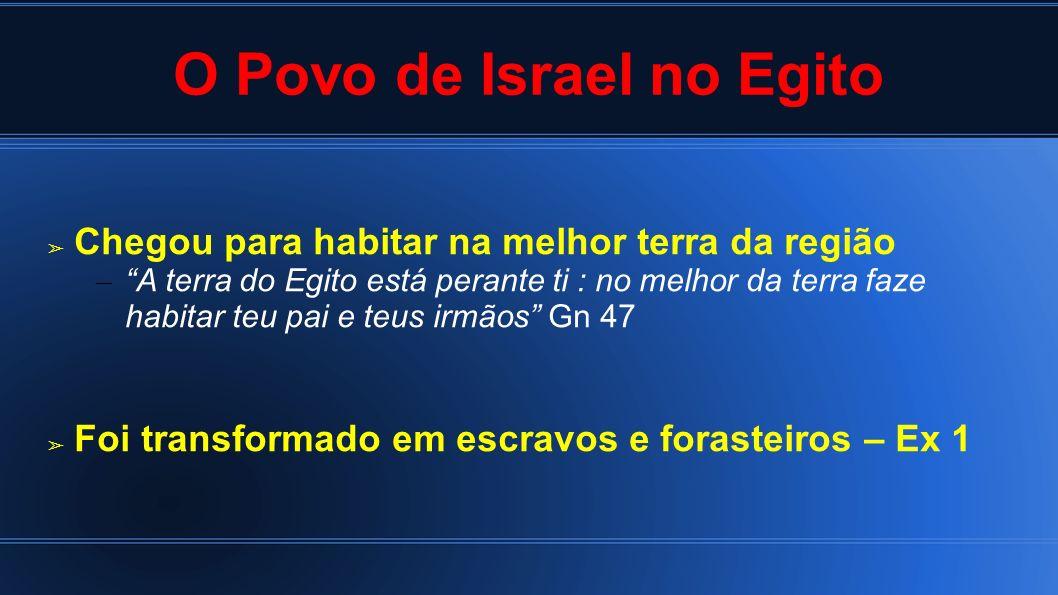 O Povo de Israel no Egito