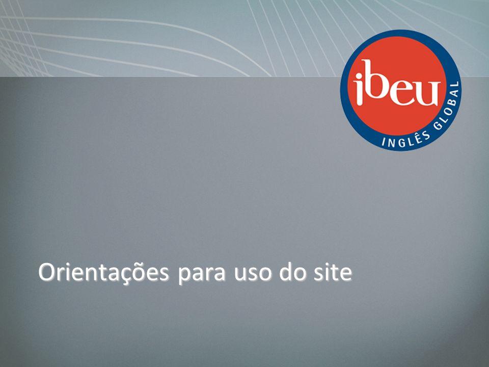 Orientações para uso do site