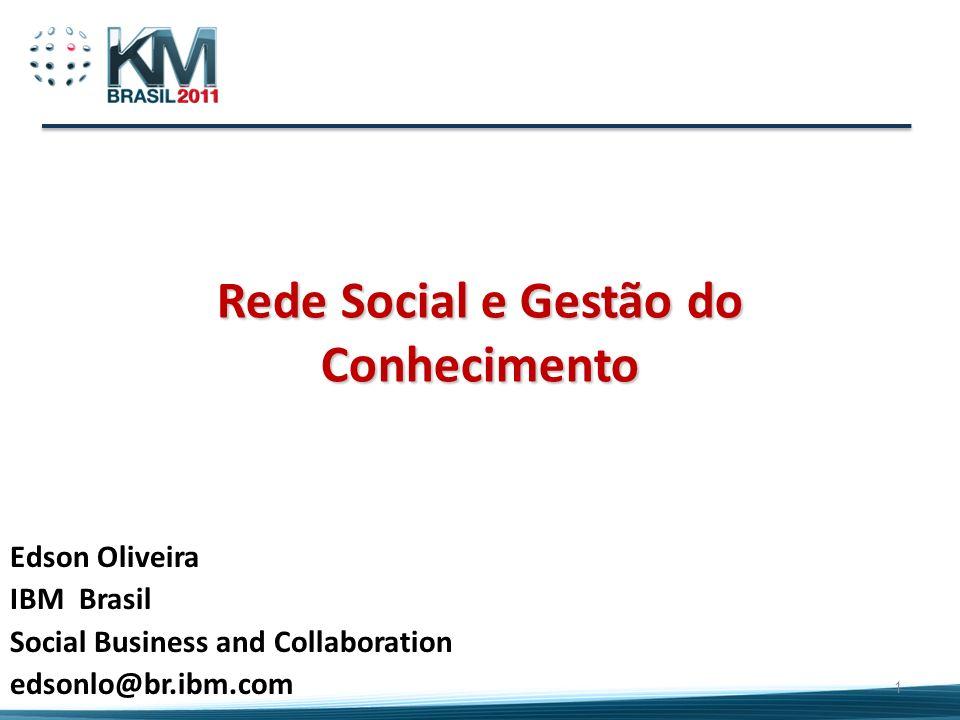 Rede Social e Gestão do Conhecimento