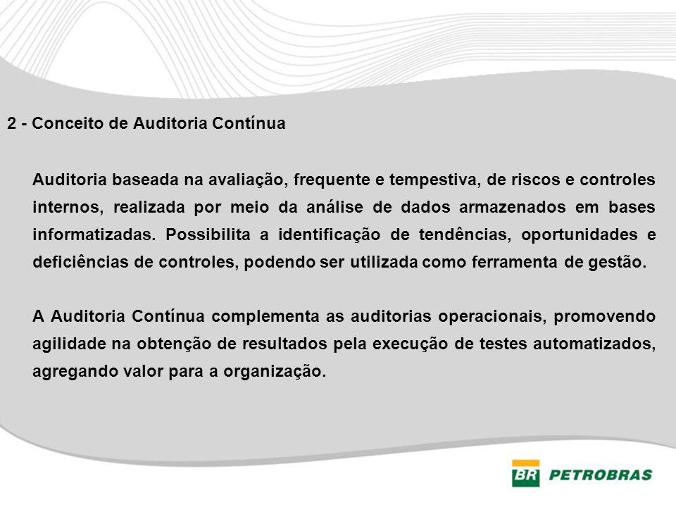 2 - Conceito de Auditoria Contínua