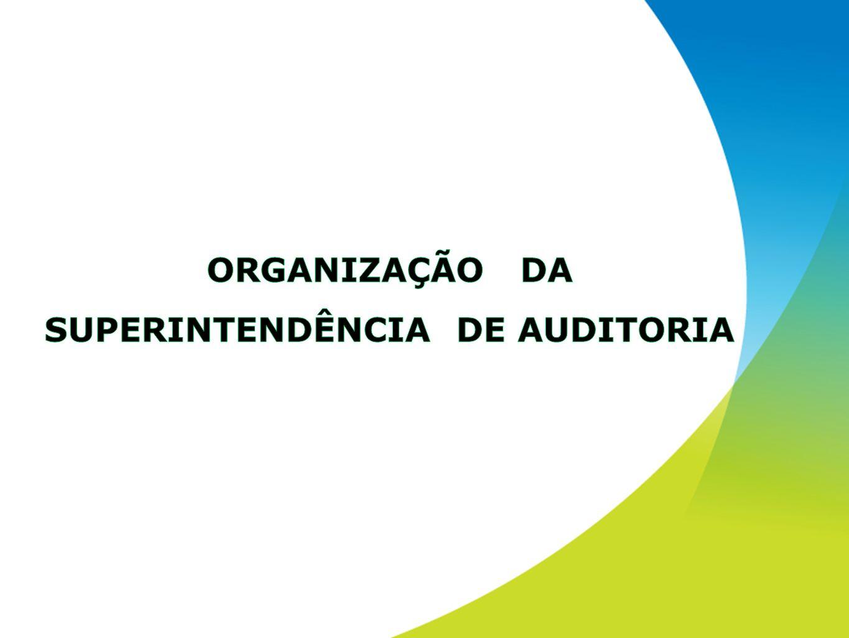 ORGANIZAÇÃO DA SUPERINTENDÊNCIA DE AUDITORIA