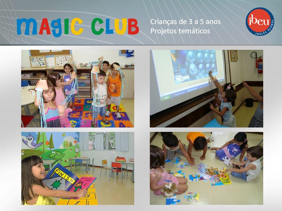 Crianças de 3 a 5 anos Projetos temáticos