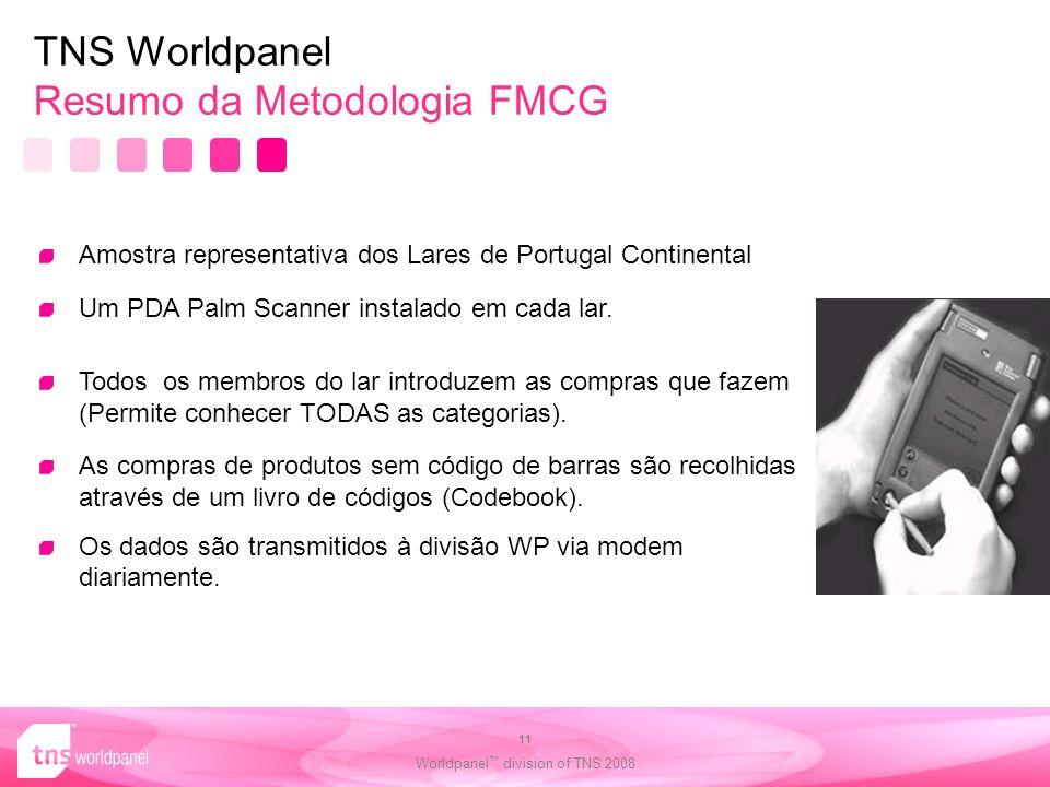 TNS Worldpanel Resumo da Metodologia FMCG