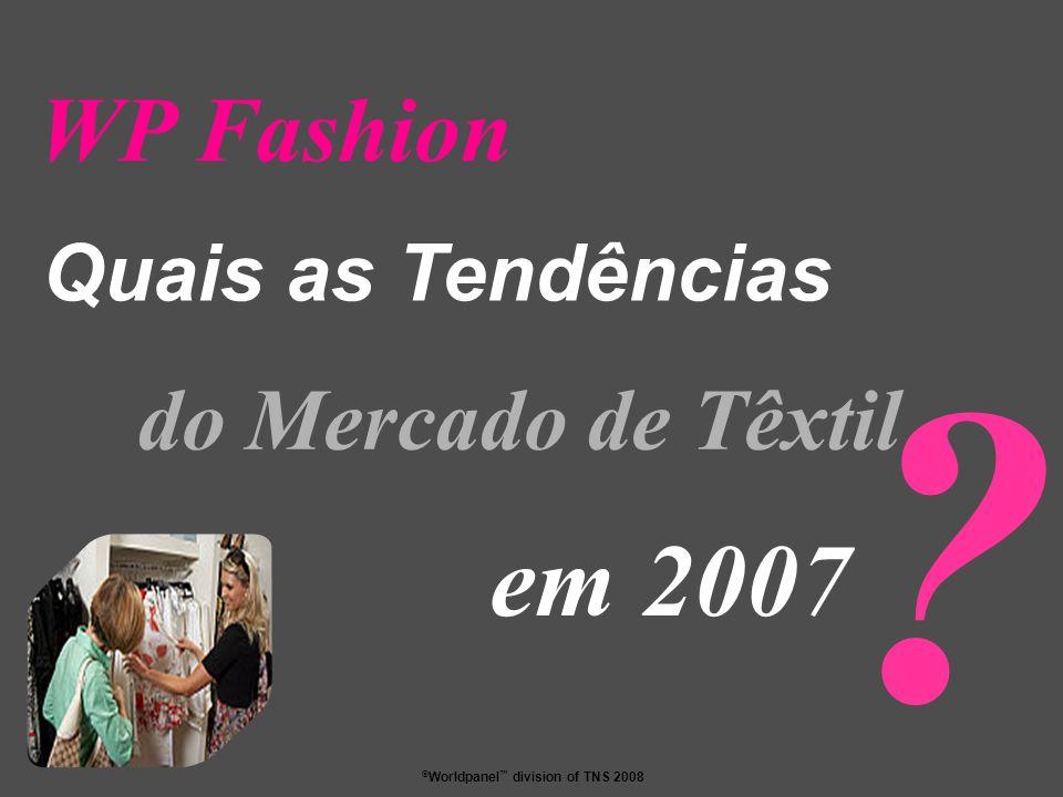 WP Fashion Quais as Tendências do Mercado de Têxtil em 2007
