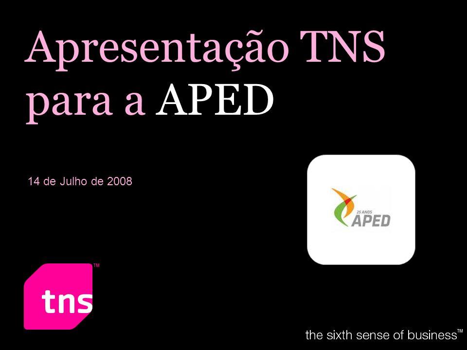Apresentação TNS para a APED