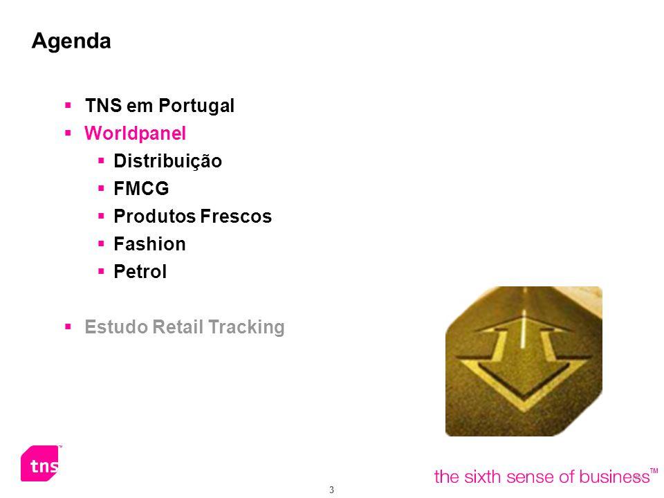 Agenda TNS em Portugal Worldpanel Distribuição FMCG Produtos Frescos