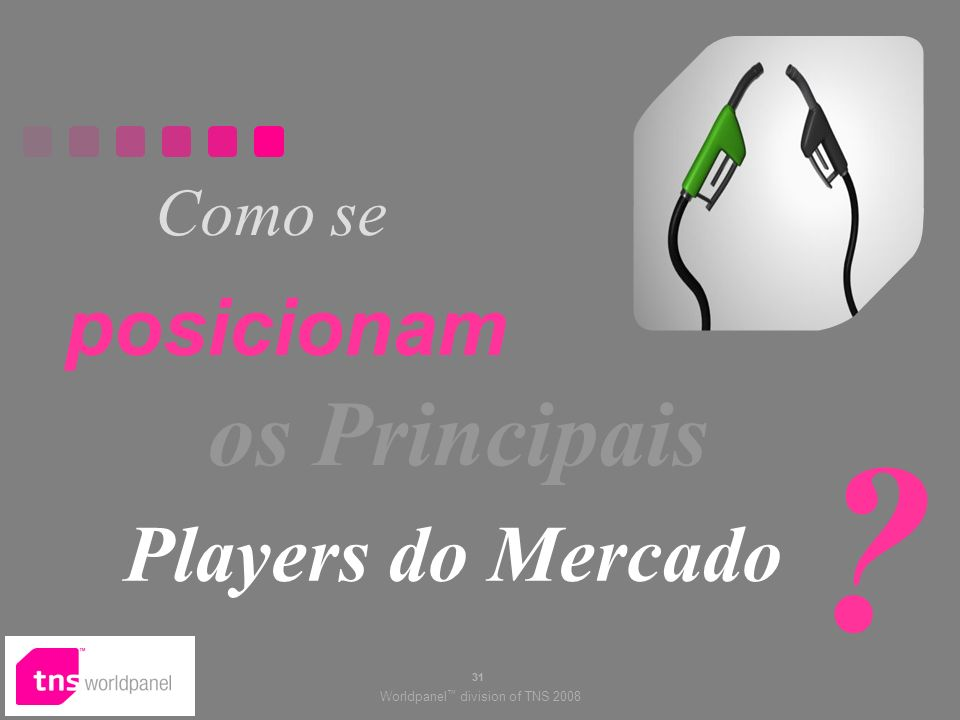 Como se posicionam os Principais Players do Mercado