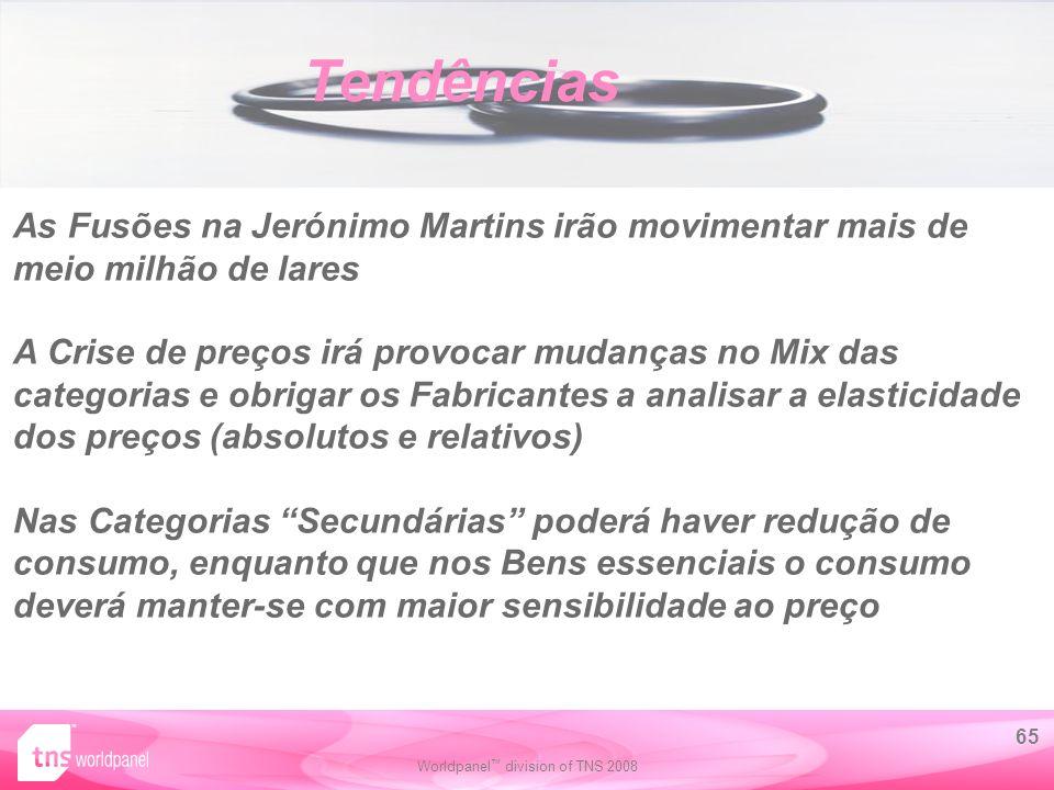 Tendências As Fusões na Jerónimo Martins irão movimentar mais de meio milhão de lares.