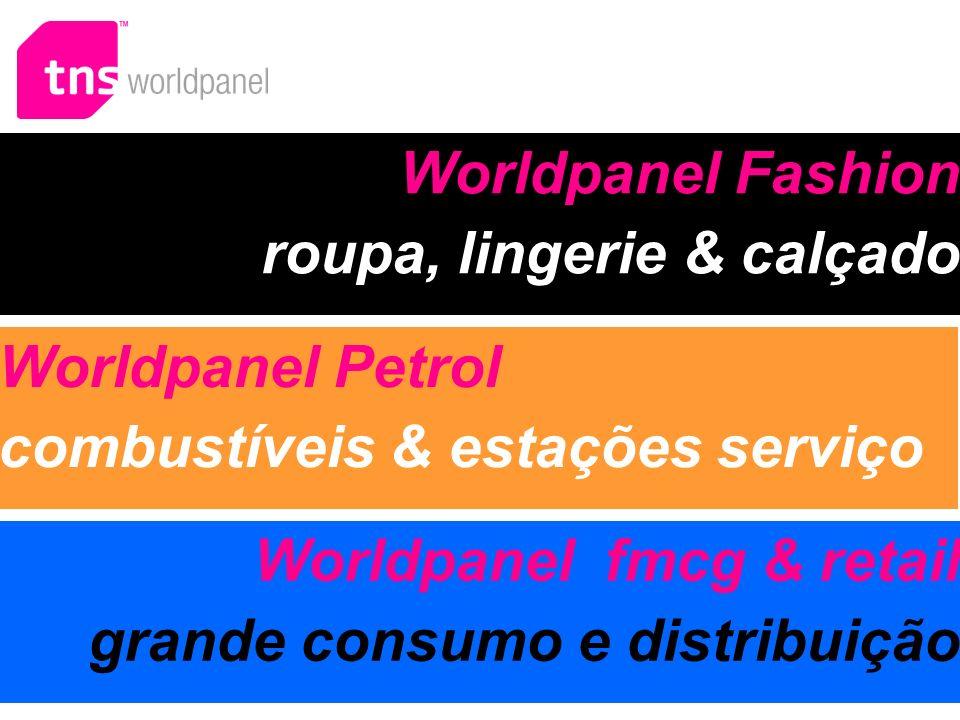 Worldpanel Fashion roupa, lingerie & calçado