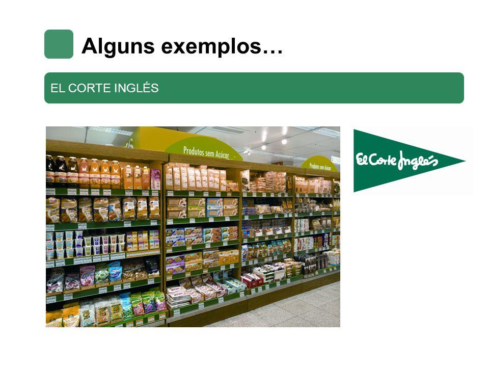 Alguns exemplos… EL CORTE INGLÉS