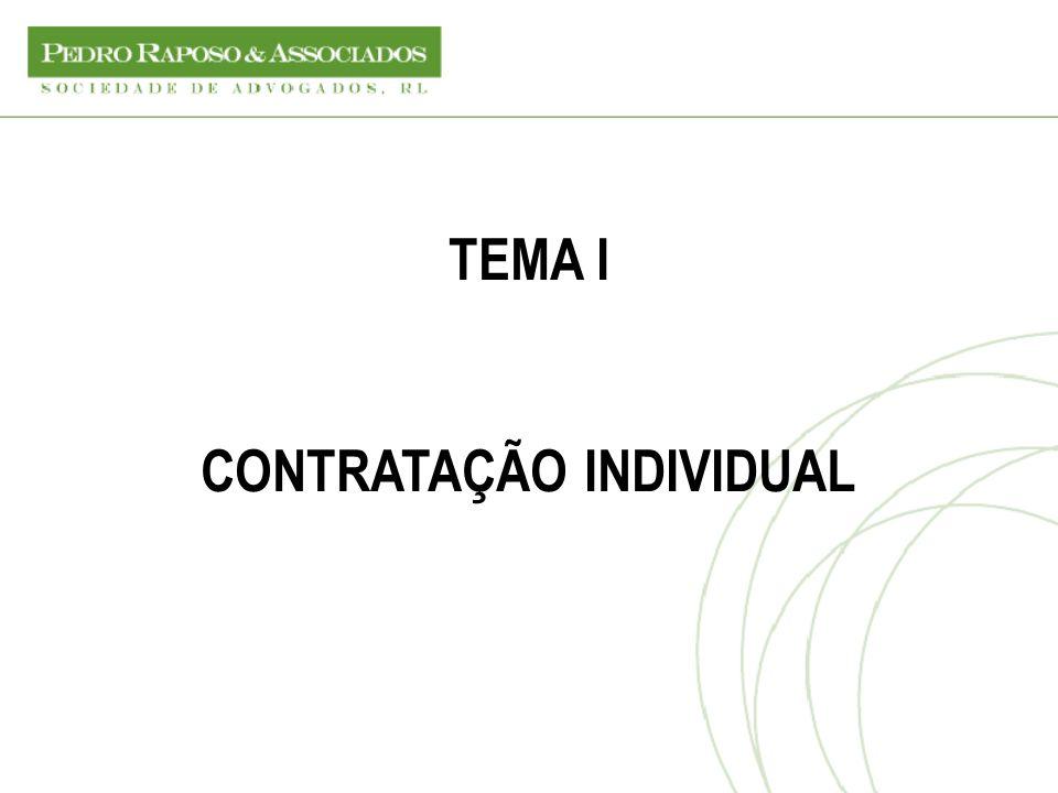 CONTRATAÇÃO INDIVIDUAL