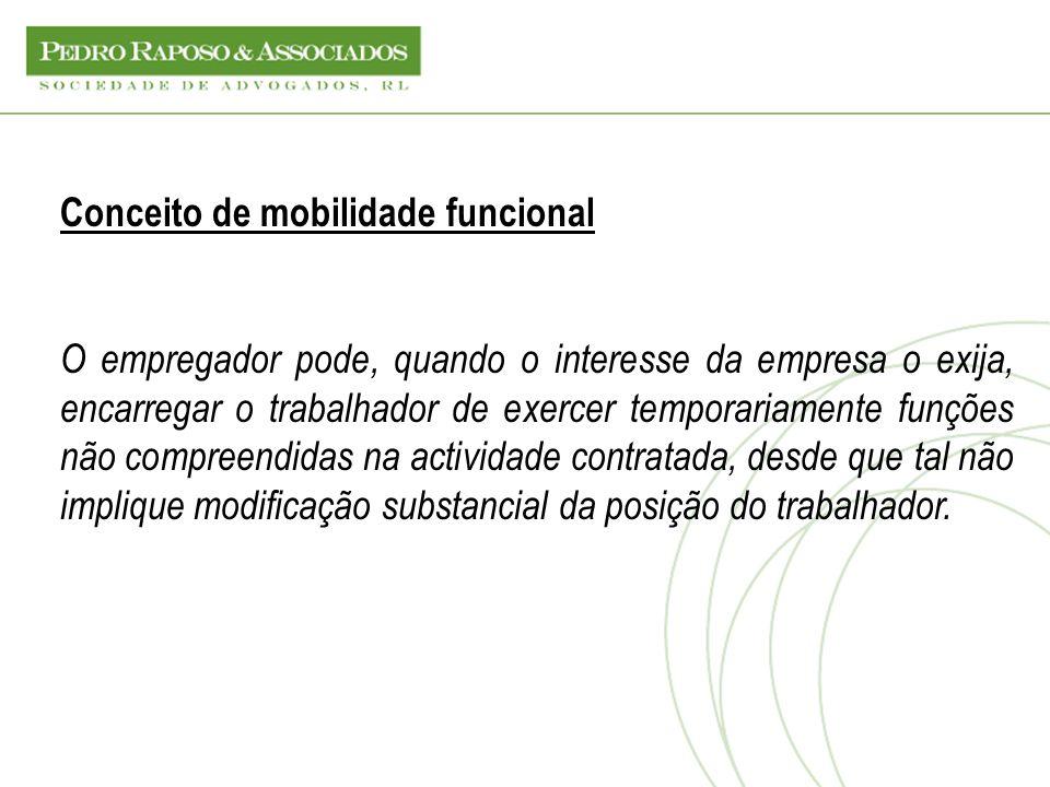 Conceito de mobilidade funcional