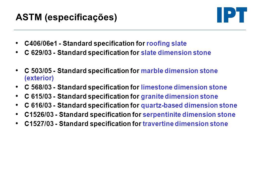 ASTM (especificações)