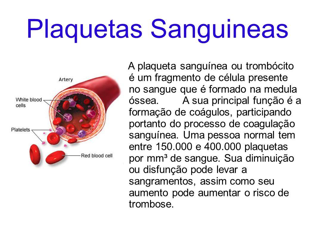 Plaquetas Sanguineas