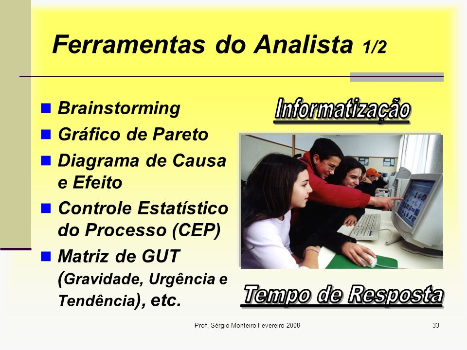 Ferramentas do Analista 1/2